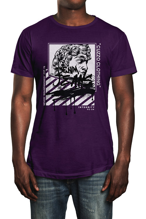 Cuzzo® Brandwashed tee (Purple)