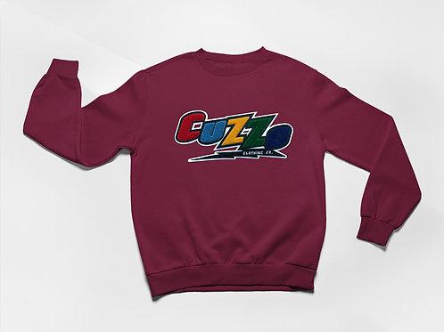 Cuzzo® Arc Sweatshirt (Maroon)