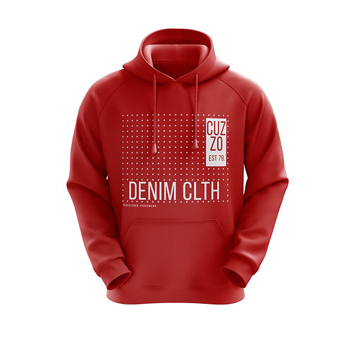 Cuzzo Showtime Hoodie (Red)