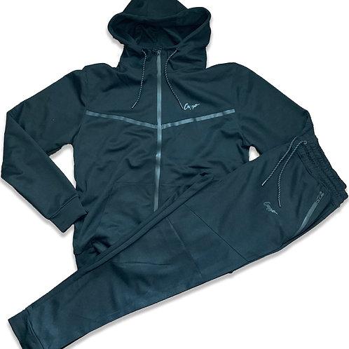 Cuzzo® Tech Fleece Jogger Set (Blk-Blk) **Exclusive**