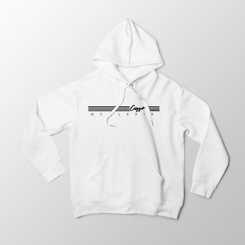 Cuzzo® Quad Hoodie (White-Black)