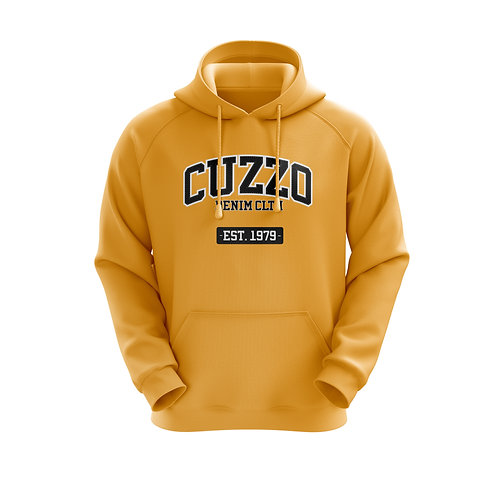 Cuzzo® Grad Hoodie (Gold-Blk)