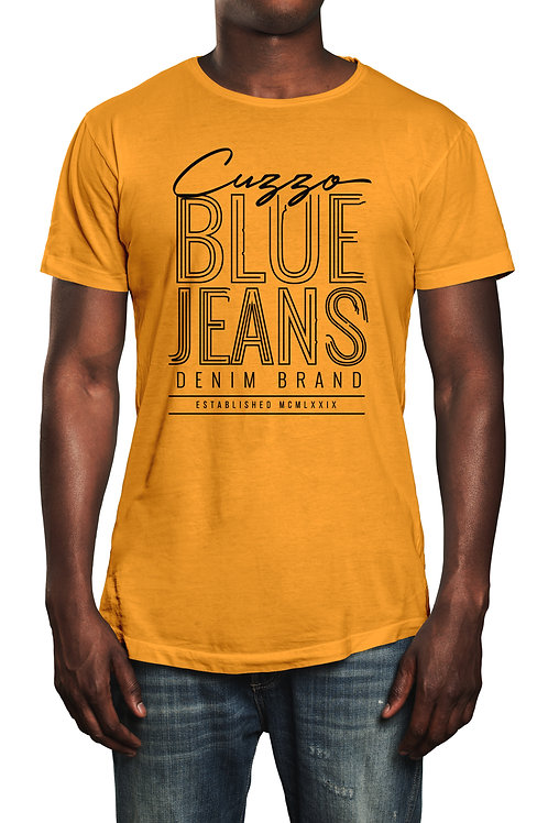 Cuzzo® Blue Jeans tee (Gold-Black)