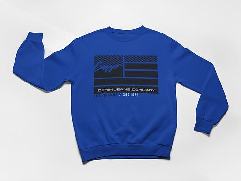Cuzzo® Nation Flag Sweatshirt (Royal)