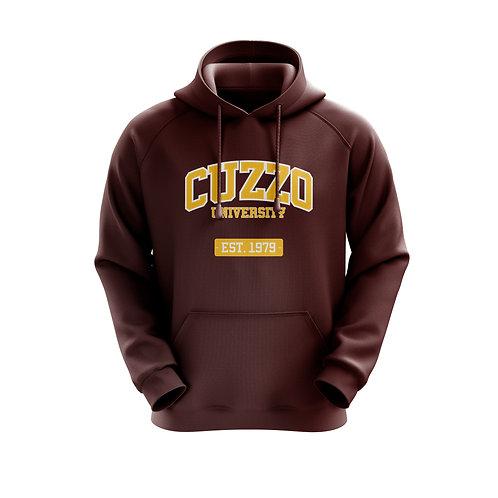 Cuzzo® Grad Hoodie (Maroon-Gold)