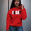 Thumbnail: Cuzzo® BHM Hoodie (Red)