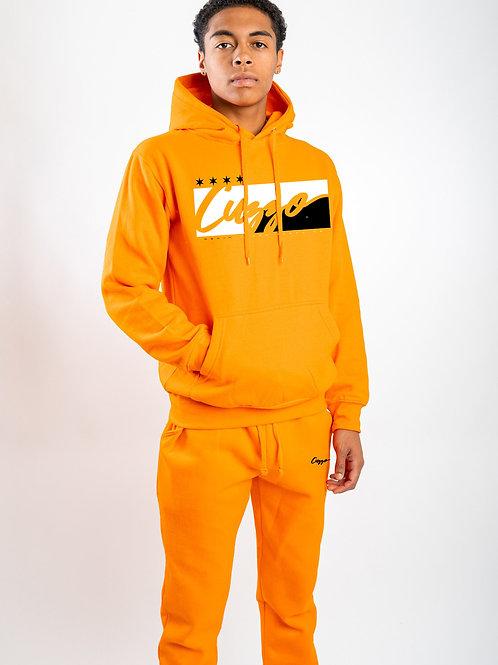 Cuzzo® Signature Block Jogger Set (Orange)