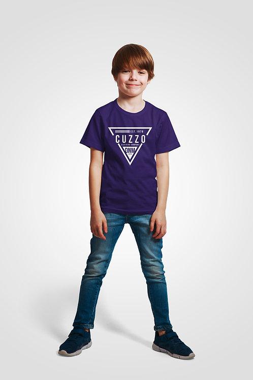 Boys Youth Flava Tee (Purple)