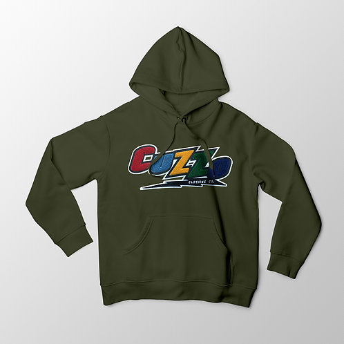 Cuzzo® Arc Hoodie (Military Green)