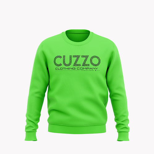 Cuzzo® I Am Black History Sweatshirt (Volt Green-Black)