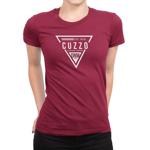 Cuzzo® Unisex Women's FLAVA Tee (Red)