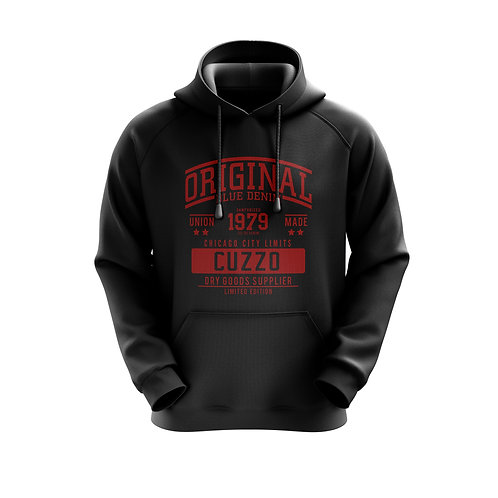 Cuzzo City-Limits Hoodie (Blk-Red)