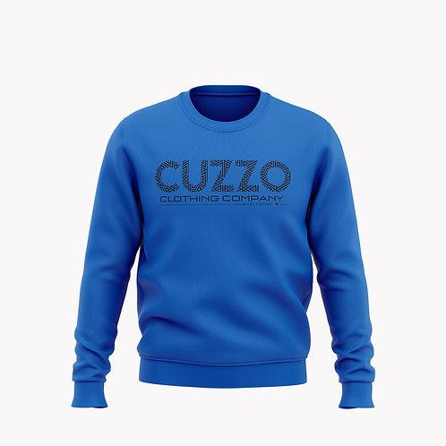 Cuzzo® I Am Black History Sweatshirt (Royal-Black)