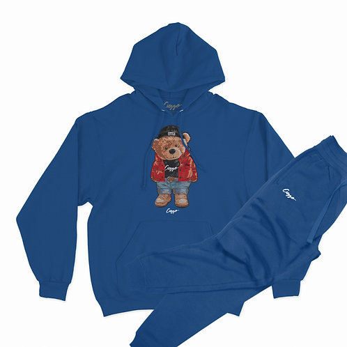 Cuzzo® Cuzzy™ Hoodie Jogger Set (Royal)