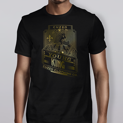 Cuzzo Young Kings Tee Black