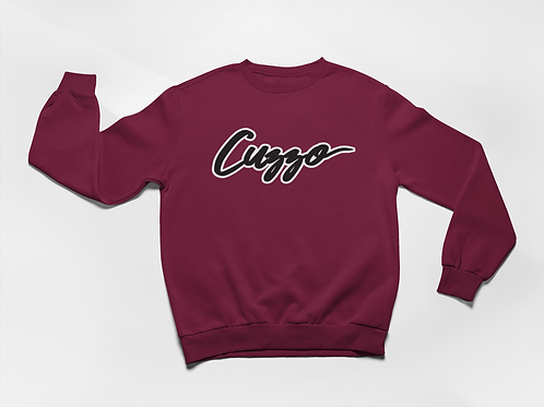 Cuzzo® Expanded Signature Sweatshirt (Maroon)