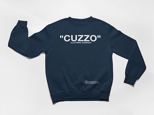 """Cuzzo® """"Quote Me"""" Sweatshirt (Navy-White)"""