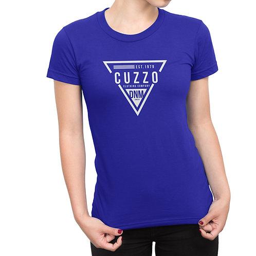 Cuzzo® Unisex Women's FLAVA Tee (Royal)
