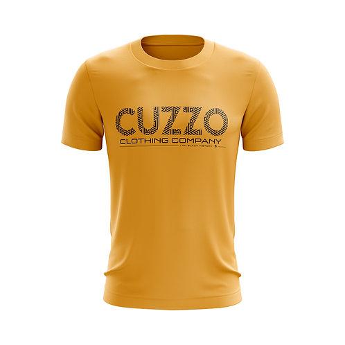 Cuzzo® I Am Black History Tee (Gold-Black)