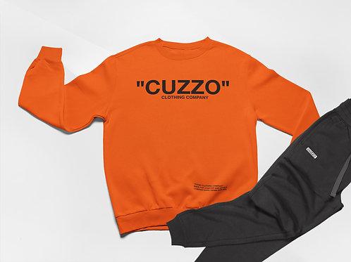 Cuzzo® Quote ME Jogger Set (Orange-Black)
