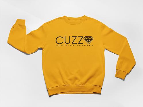 Cuzzo® Diamond Cut Sweatshirt (Gold-Black)