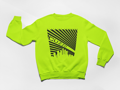 Cuzzo® Illuminate Sweatshirt (Neon Green)