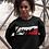 Thumbnail: Cuzzo® Signature Block Sweatshirt  (Black-Red/White)**