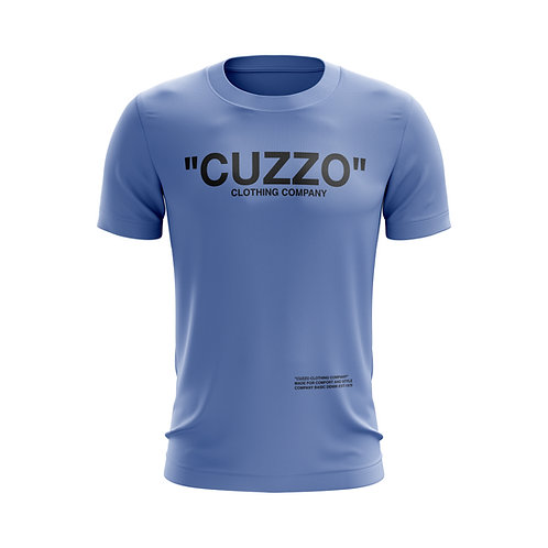 Cuzzo® Quote ME Tee (Carolina Blue-Black)