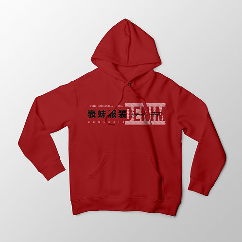 Cuzzo® International Hoodie (Red )