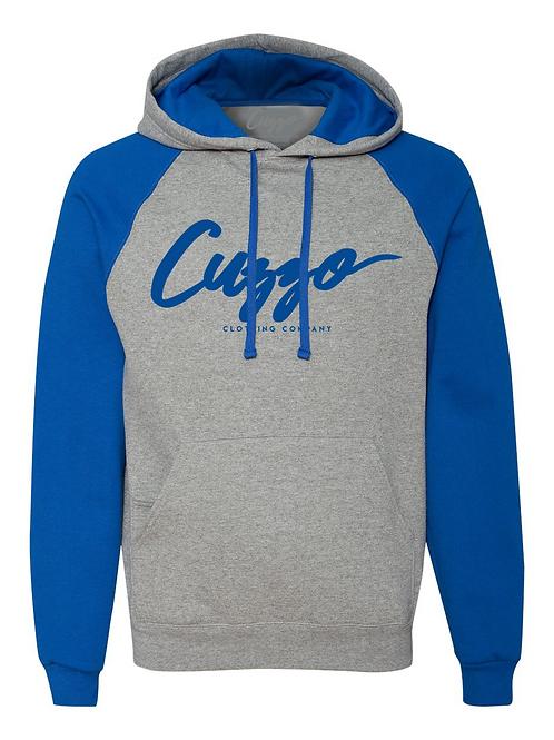 Cuzzo® EXCLUSIVE Signature Hoodie (Grey-Royal)