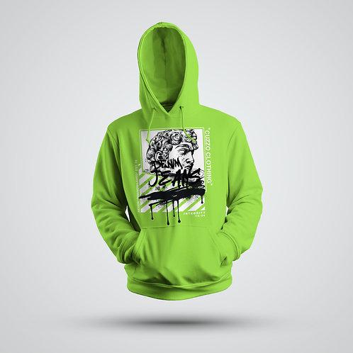 Cuzzo® Brandwashed Hoodie (Neon Green)