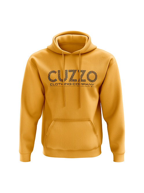 Cuzzo® I Am Black History Sweatshirt (Gold-Black)