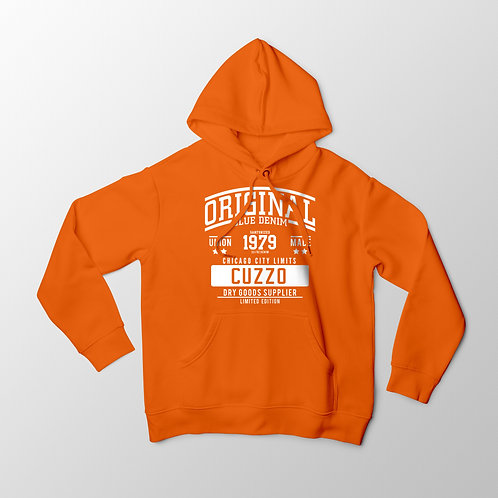 Cuzzo City-Limits Hoodie (Orange-White)