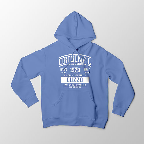 Cuzzo City-Limits Hoodie (University Blue-White)