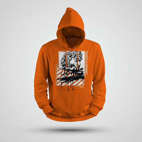 Cuzzo® Brandwashed Hoodie (Orange)