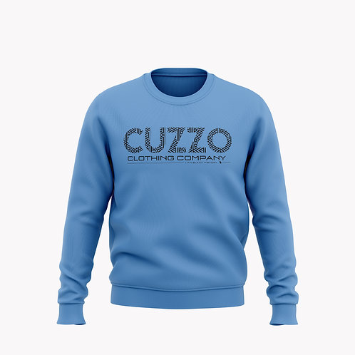Cuzzo® I Am Black History Sweatshirt (University Blue-Black) Sweatshirt