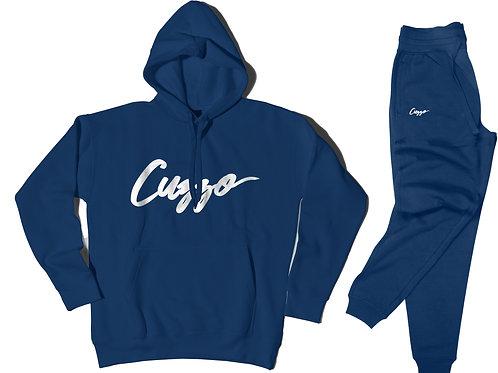 Cuzzo® Signature Jogger Set (Royal-White)