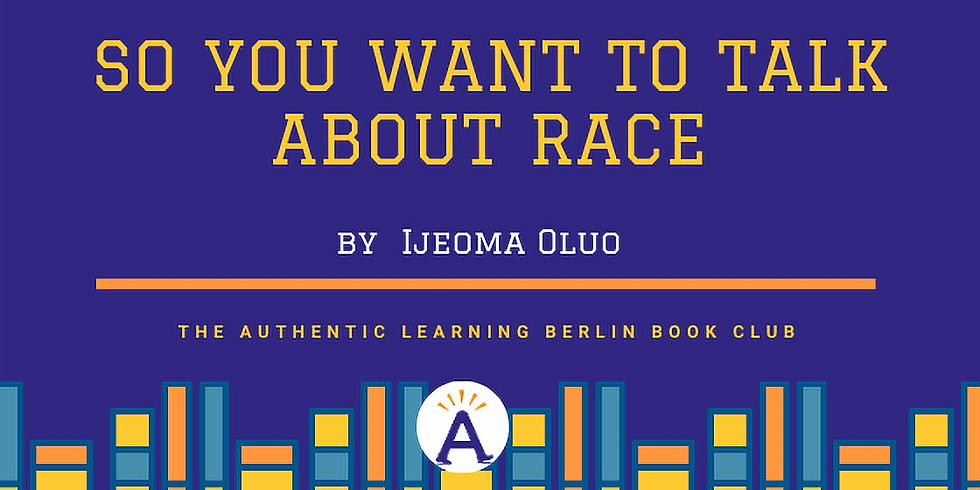 Online book club: So you want to talk about race