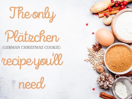 Christmas cookies, German style