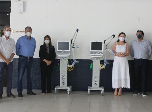 Hospital Universitário - HULW-UFPB recebe Ventiladores Pulmonares doados pela Epasa