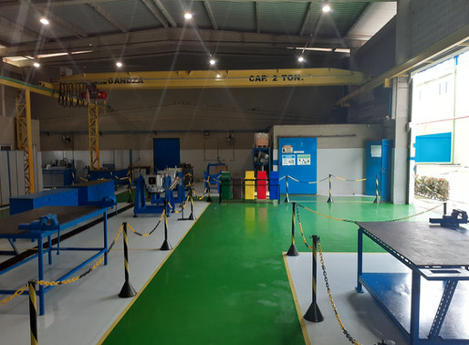 Oficina de Manutenção da Epasa, passa por modernização