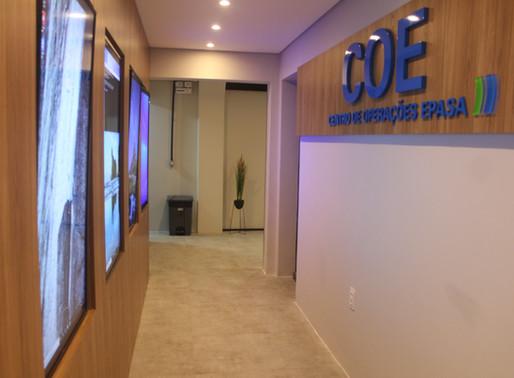 COE – Centro de Operações Epasa é inaugurado