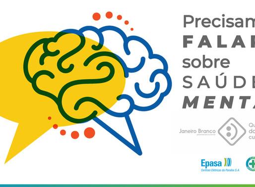 Janeiro Branco: campanha destaca importância da saúde mental para os colaboradores da Epasa