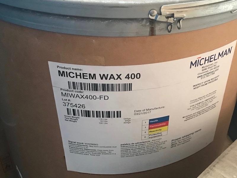 MICHEM WAX 400