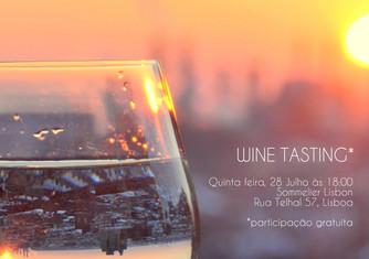 28.07 / Wine Tasting