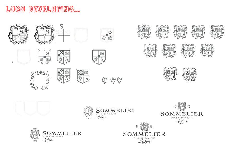 wine restaurant logo 3