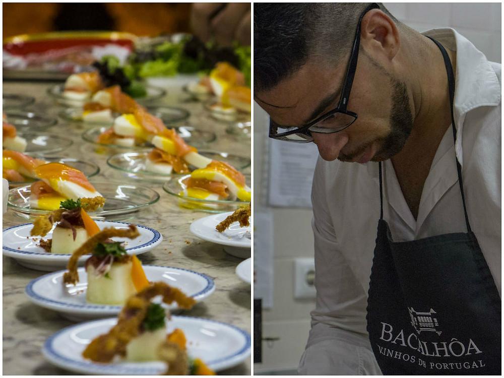 Quinta da Bacalhôa wine tasting food by Sommelier Lisbon