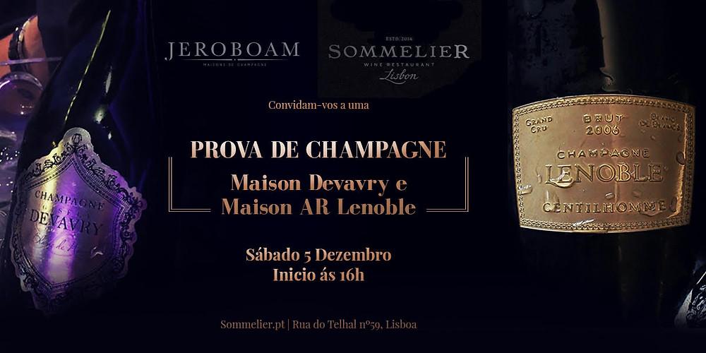 Lenoble Devavry Champagne Sommelier Lisbon