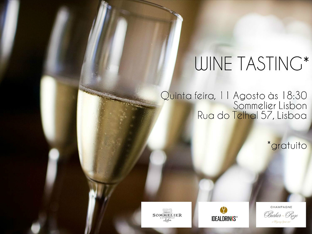 Wine tasting by Sommelier Lisbon Ideal Drinks Barbier Roze