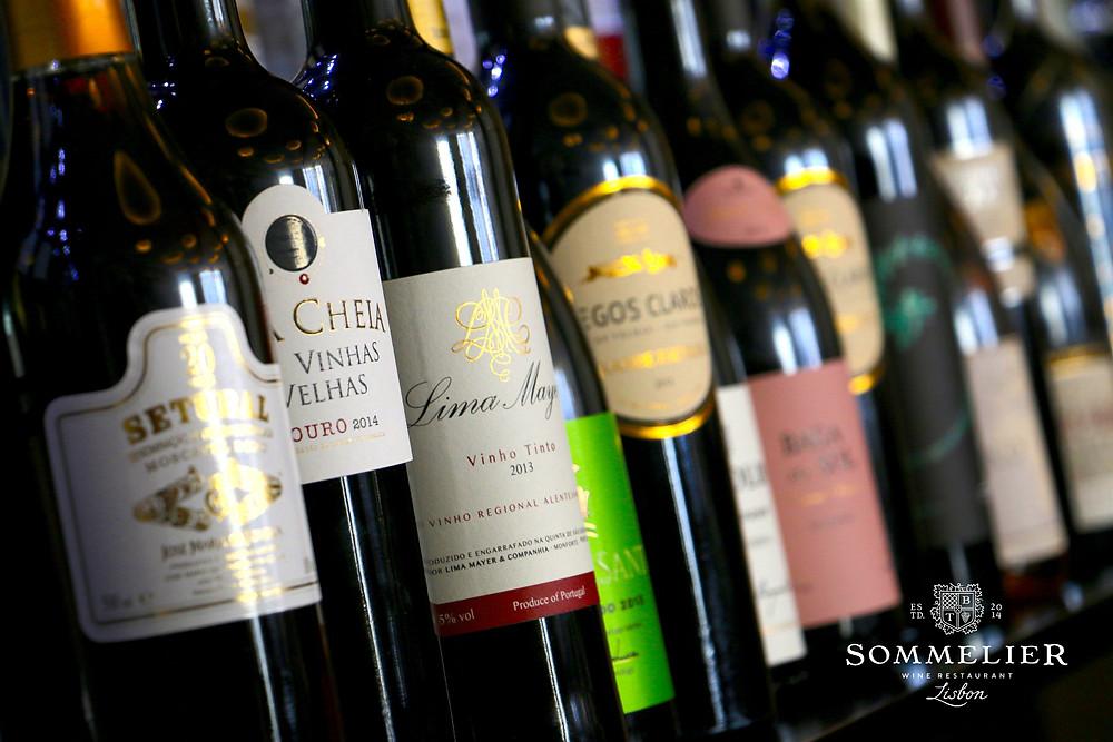 Sommelier Lisbon wines